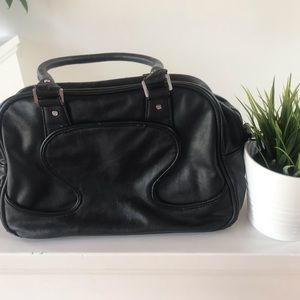 Black lululemon bag